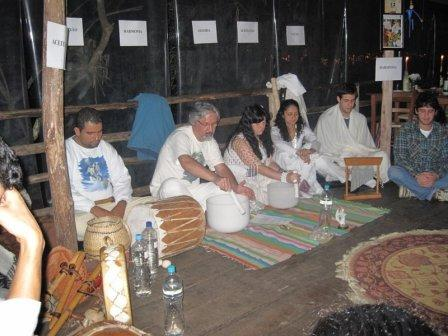 cerimonia harmonização solstício inverno 2009