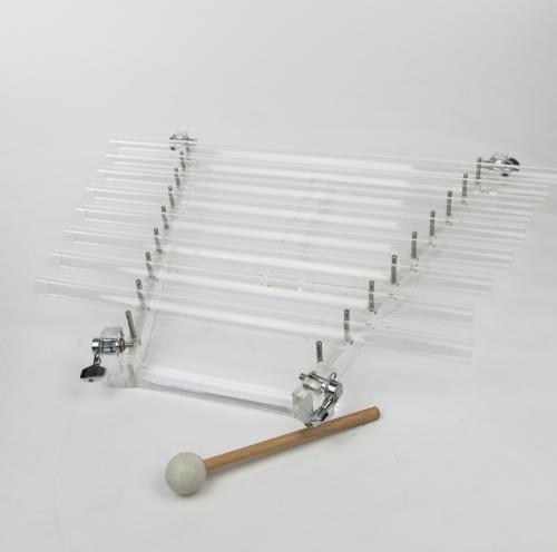 harpa de cristal de quartzo